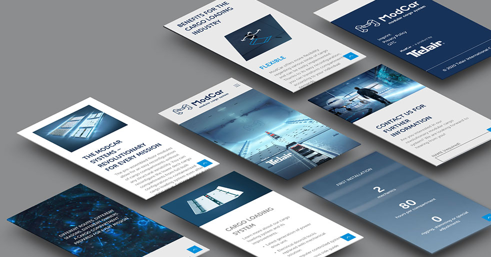 Brochures about the advantages of ModCar | TELAIR