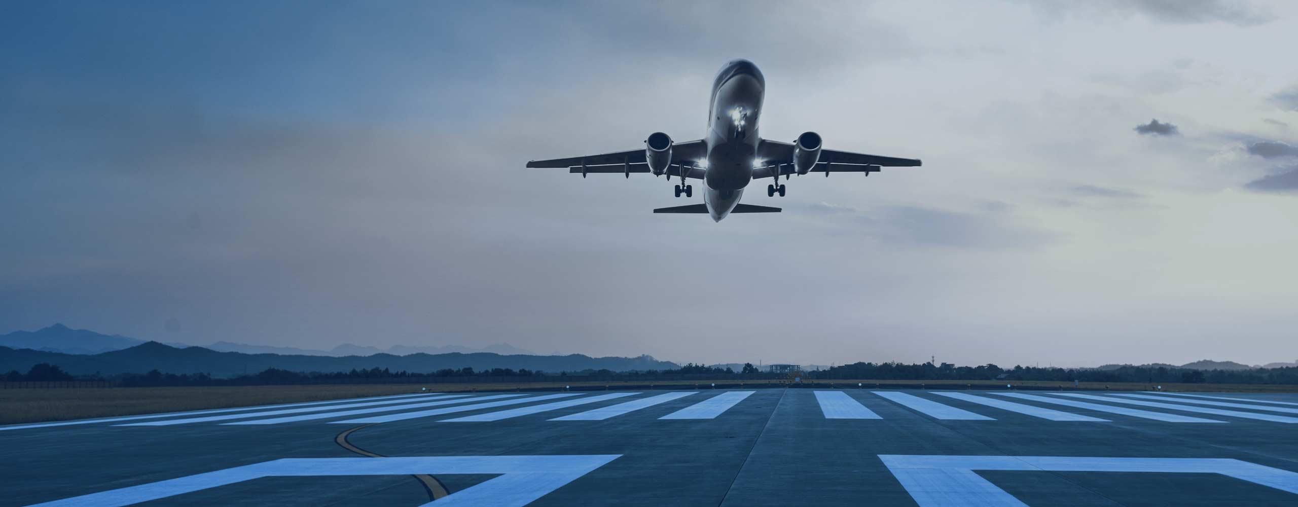 Aircraft taking off | TELAIR