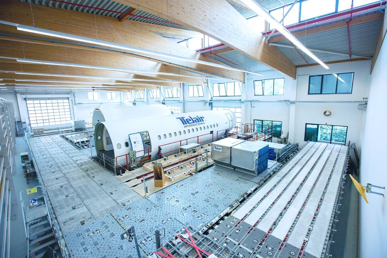 Testing Centre at Miesbach, Germany   TELAIR