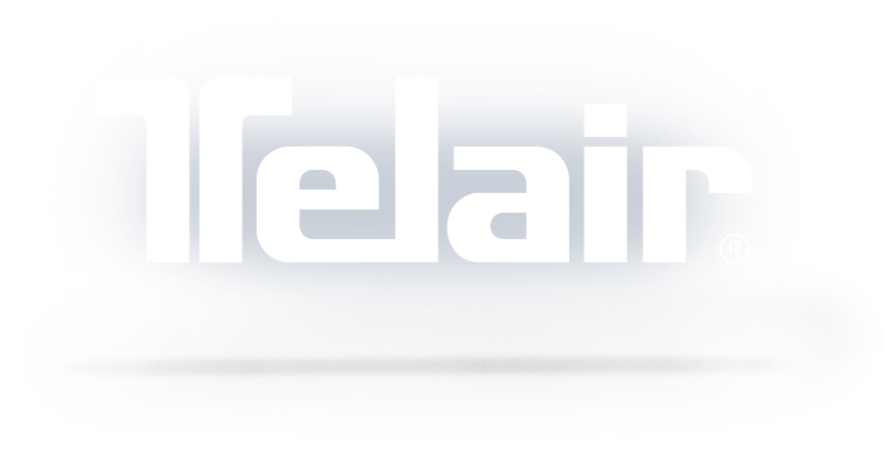 Telair logo with shadow