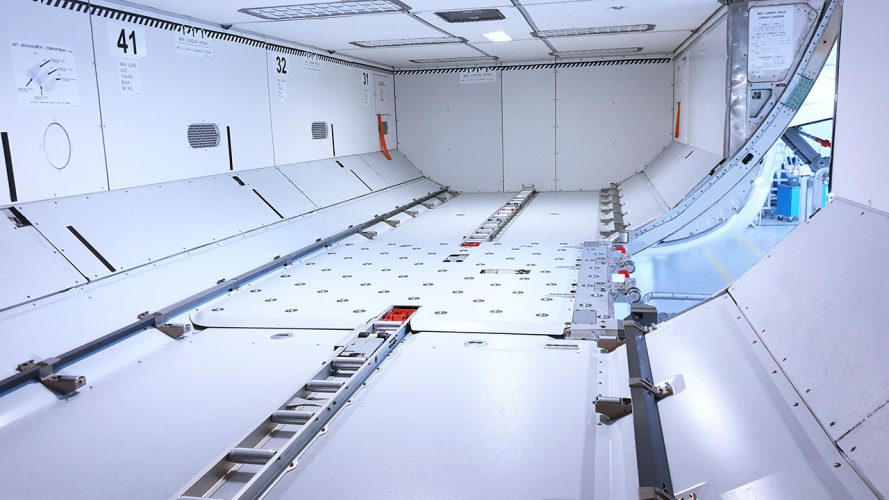 Lower Deck Cargo Loading System A320