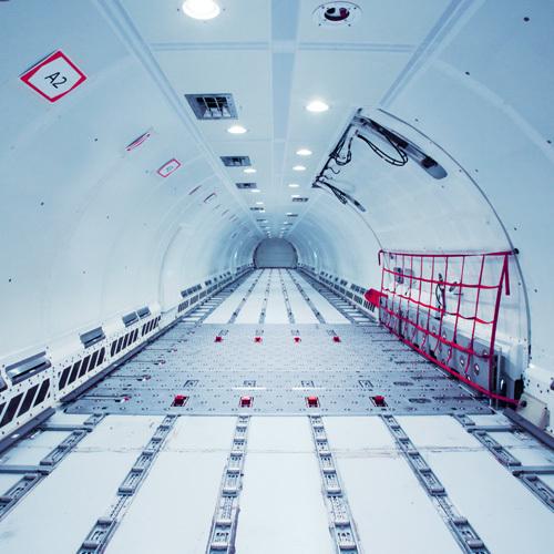 A321 main deck P2F freighter conversion | TELAIR